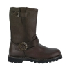 STEAM BOOT Brown Leather